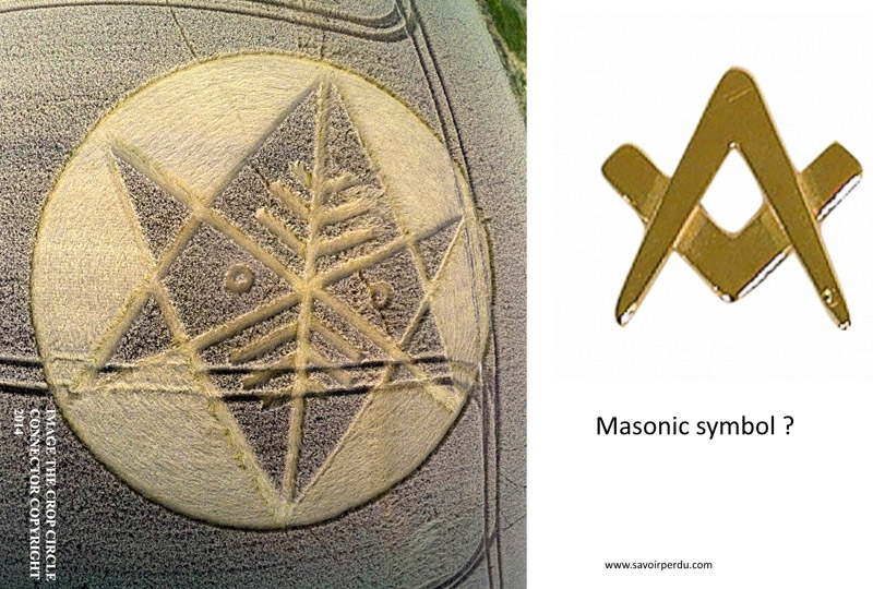 Crop Circle at Ironwell Lane, nr Stroud Green, Essex, United Kingdom. Reported 24th August  2014 Dorset