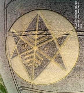 Crop Circle at Ironwell Lane, nr Stroud Green, Essex, United Kingdom. Reported 24th August  2014 Image008