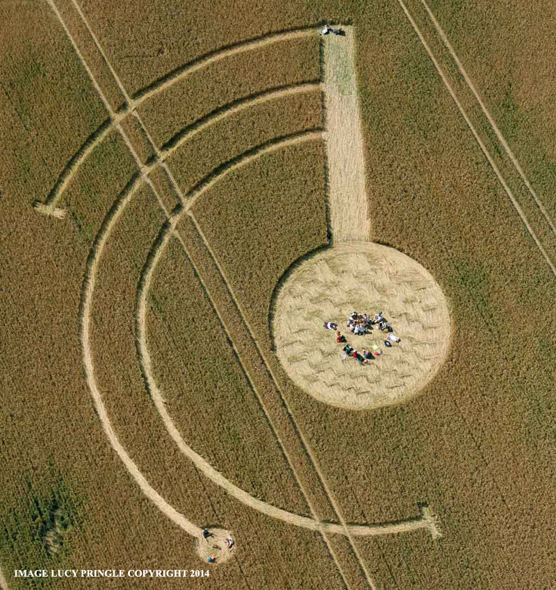 Crop Circle at Welsh Way, nr Barnsley, Gloucestershire, United ...