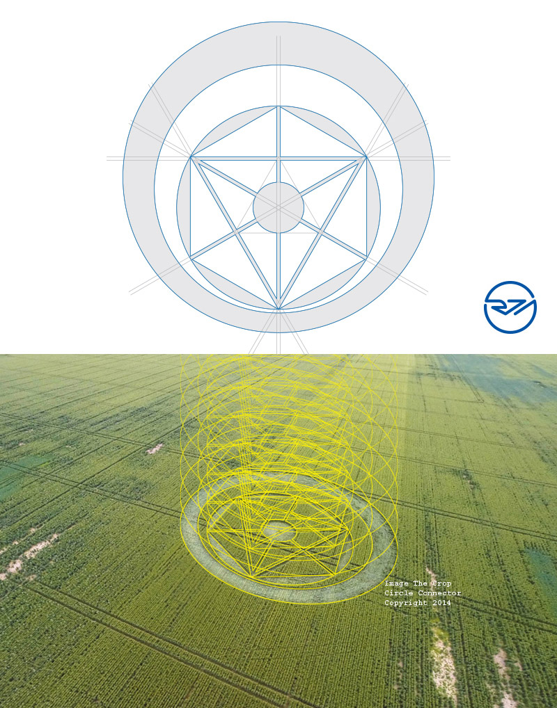 Crop Circle at Temple Farm, Sutton road, Nr Southend-on-Sea, Essex ...