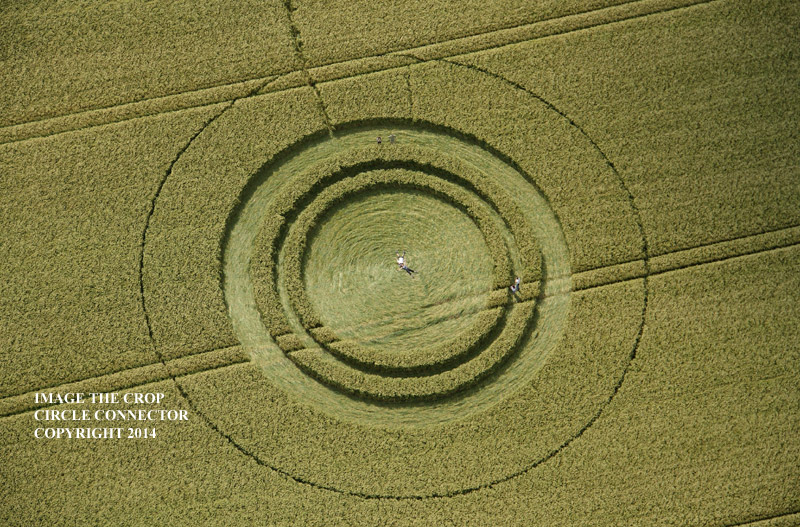 NEW CROP CIRCLE : RAINBOW AND HALOS … UK Report 13th July (13) WESTKENNETTLONGBARROW2014A