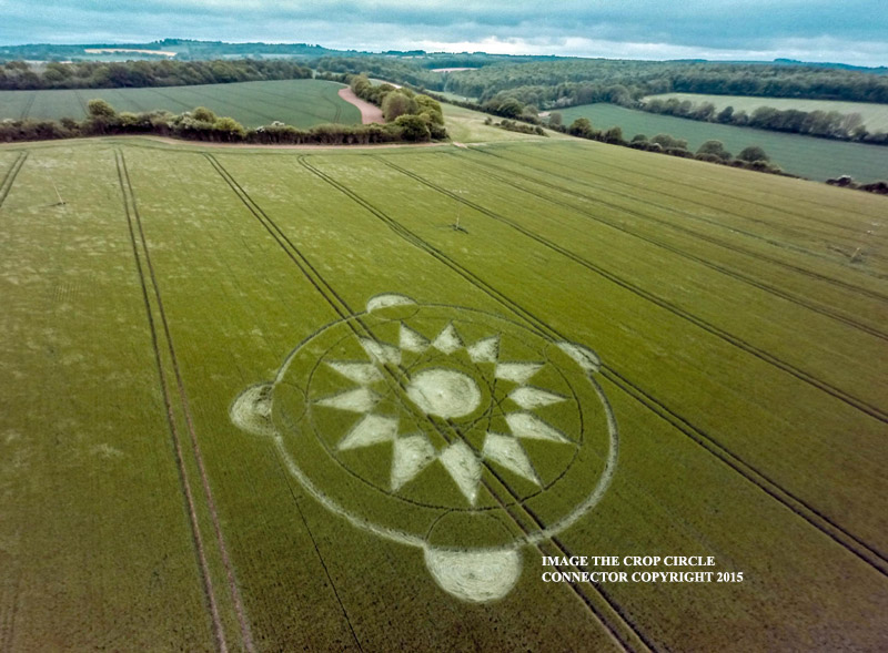 Crop circle connector