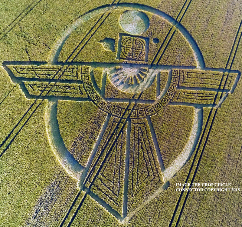 Eagle Crop Circle