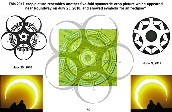 Crop Circle At Little Knoll Nr Maiden Bradley Wiltshire Reported