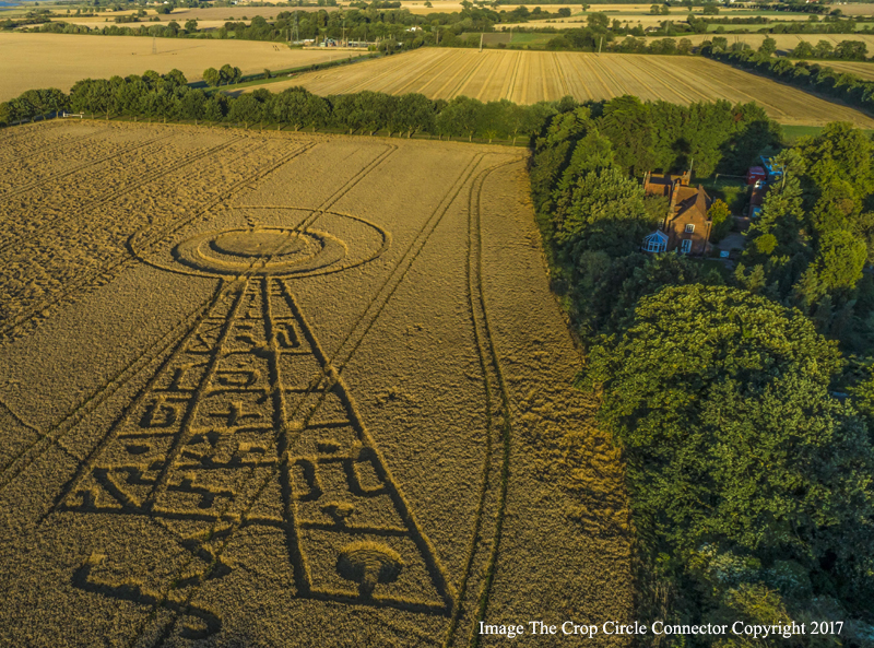 Amazing Crop Circle Appears Days Before Solar Eclipse August St - 17 incredible photos of the 2017 solar eclipse