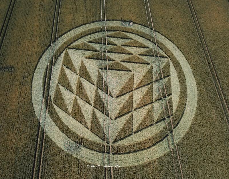 Crop Circles 2019 - Rodfield Lane, Nr Tichborne, Hampshire DJI_001110