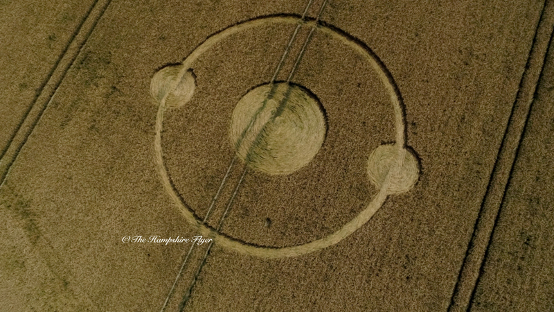 Crop Circles 2019 - Scrubbs Lane, Nr Bishops Sutton, Hampshire CCCDJI_03071