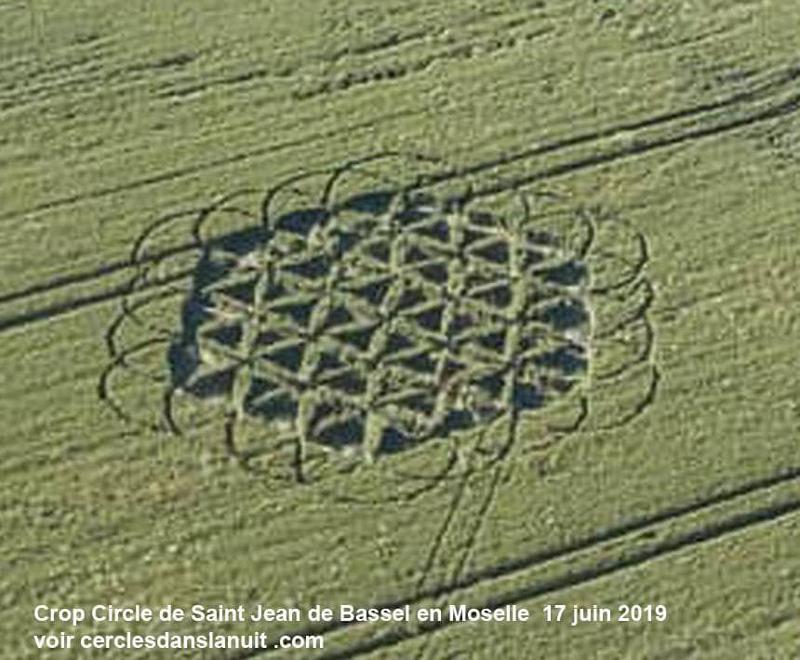 Crop Circles 2019 ~  St-Jean of Bassel, France Stjean2019a