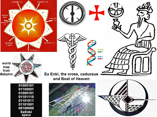 The Return Of Ea Enki A Great Sumerian Leader Who Once Created All