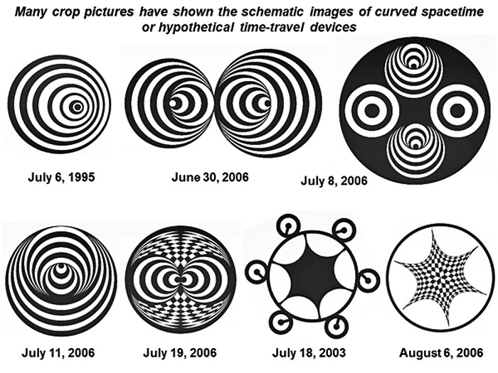 Some Modern Crop Pictures Show Marks In Time The Tragic Crash Of