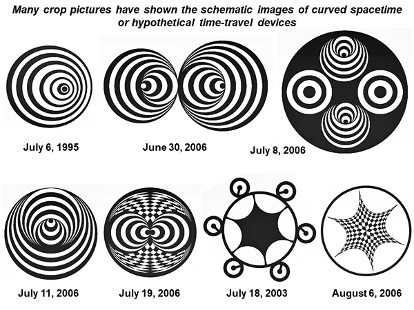 Are Human Time Travellers From The Year 8100 Making Complex Pictures