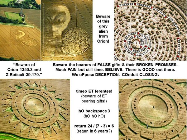 """A novel """"multiplex"""" binary code was shown to a UFO contactee"""