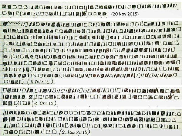 Table of 8-bit ASCII Character Codes