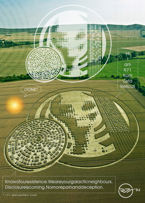 THE BEARS AND THE SHEPHERD |Chilbolton Crop Circle Explanation