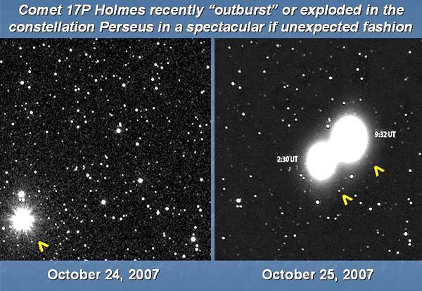Un collegamento tra la cometa P17 Holmes e i Crop Circles? 1