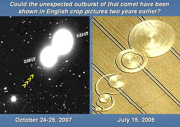 Un collegamento tra la cometa P17 Holmes e i Crop Circles? 2