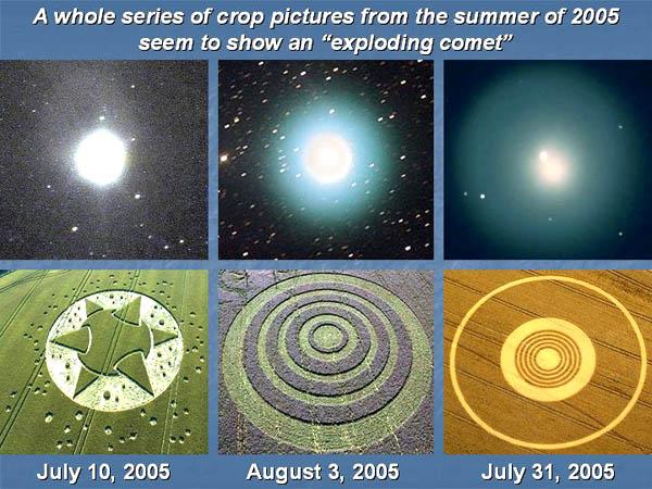 Un collegamento tra la cometa P17 Holmes e i Crop Circles? 3