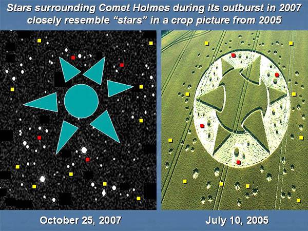 Un collegamento tra la cometa P17 Holmes e i Crop Circles? 4