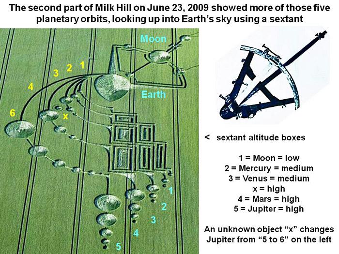 milkhillx-2 dans crop circle